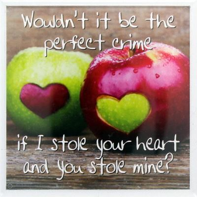Wouldn't it be the perfect crime… Fridge Magnet 139