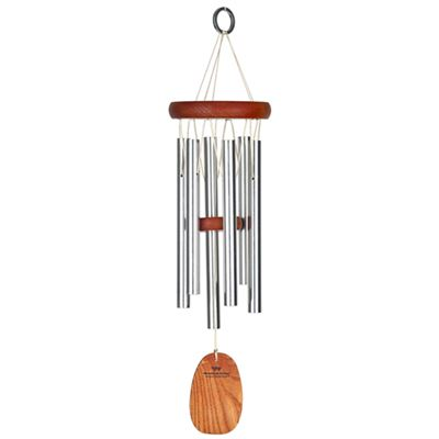 Amazing Grace Woodstock Wind Chime Silver 40cm
