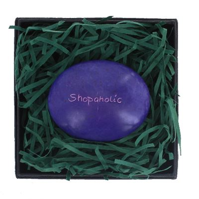 Shopoholic Large Pebble in Gift Box Fair Trade