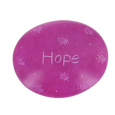 Hope Large Oval Soapstone Pebble