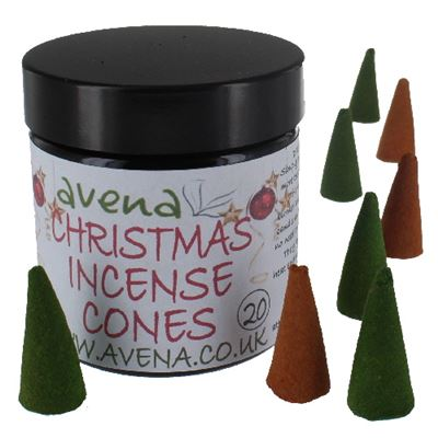 Christmas Avena Large Incense Cones 20