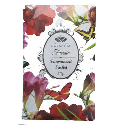 Freesia Botanical Scented Sachet 20g