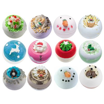 Christmas Bath Blaster Gift Set of TWELVE