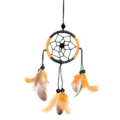Black & Orange Dream Catcher Small