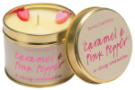 Caramel and Pink Pepper Candle In A Tin