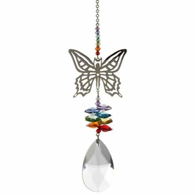 Butterfly Crystal Fantasy Rainbow Maker Large 25cm