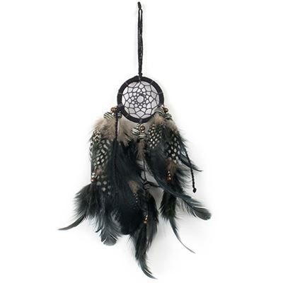 Black Dream Catcher 26cm