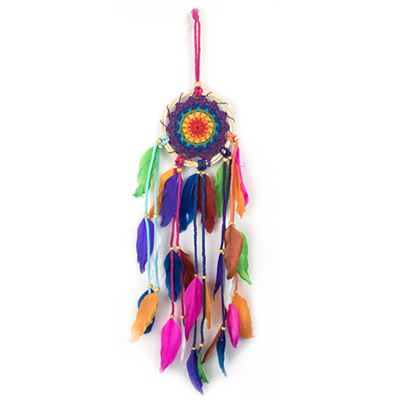 Multi Coloured Dream Catcher 45cm