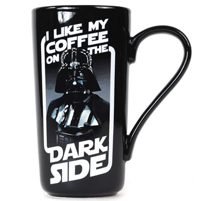 Darth Vader Coffee On The Dark Side Mug