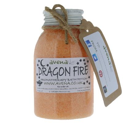 Dragon Fire Bath Sea Salt Crystals 320g