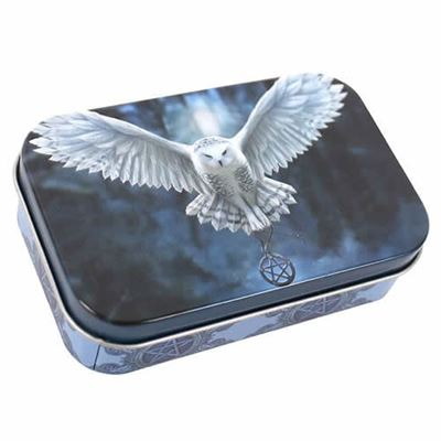 Owl Awake Your Magic Metal Tin