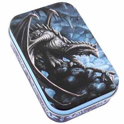 Rock Dragon Metal Tin