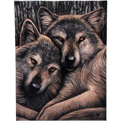 Loyal Companions Canvas Picture by Lisa Parker