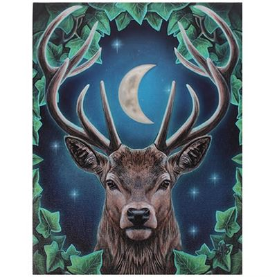 Stag Canvas Picture by Lisa Parker