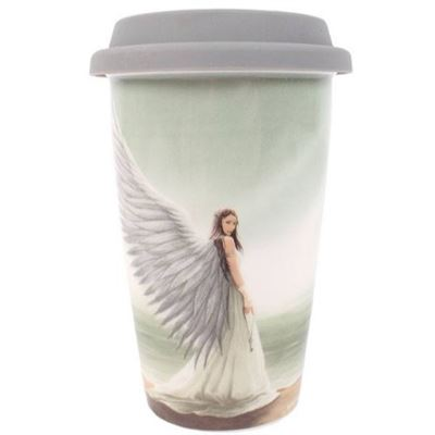 Spirit Guide Ceramic Travel Mug