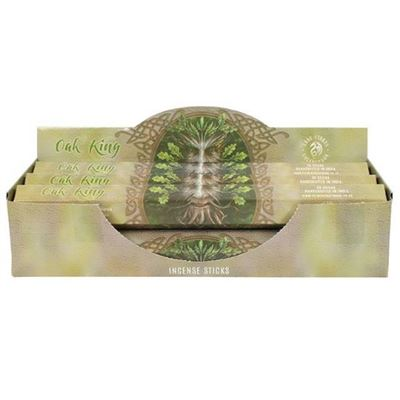 Oak King Tree Man Incense Sticks by Anne Stokes Box Of Six