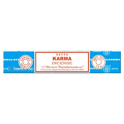 Karma Nag Champa Incense Sticks 15g Box