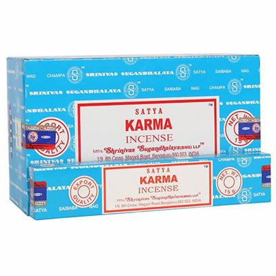Karma Nag Champa Incense Sticks Box of Twelve Special Offer
