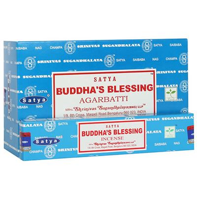 Buddha Blessing Nag Champa Incense Sticks Box of Twelve Special Offer