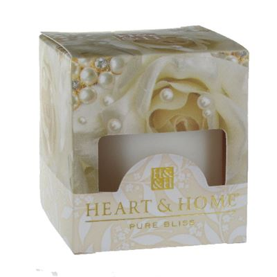 Pearl Bouquet Heart & Home Votive Candle