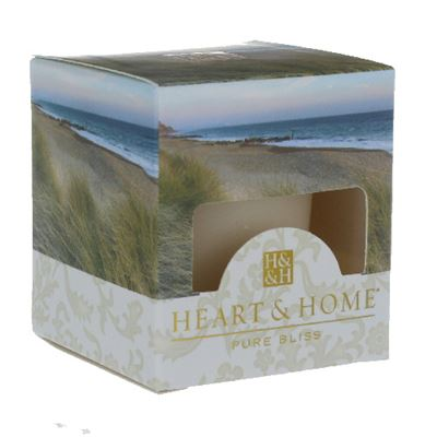 Sea Grass Heart & Home Votive Candle