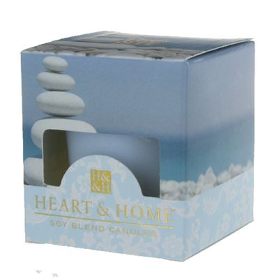 Simply Spa Heart & Home Votive Candle