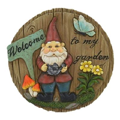 Gnome Stepping Stone or Plaque