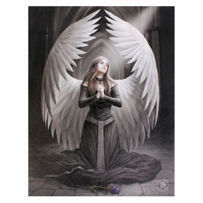 Prayer for the Fallen Canvas Picture by Anne Stokes
