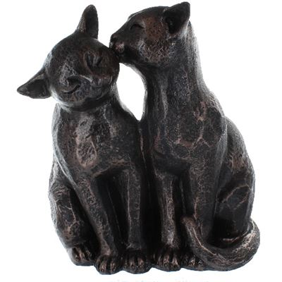Cats Couple Bronze Effect Large