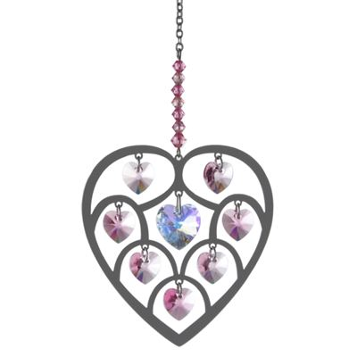 Rose Heart of Hearts Crystal