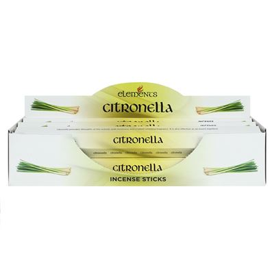 Citronella Elements Incense Sticks 6 boxes (approx 120 sticks)