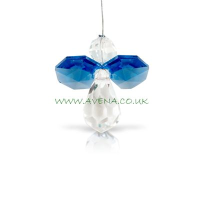 Blue Sapphire Crystal Angel