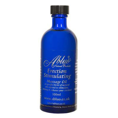 Erection Stimulation Massage Oil from Abluo 100ml
