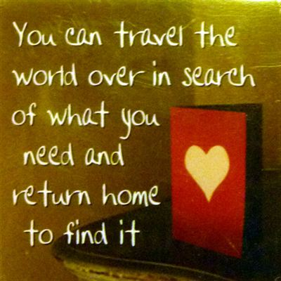 You can travel the world over in search... Fridge Magnet 051