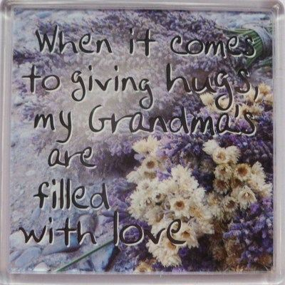 When it comes to giving hugs... Fridge Magnet 068