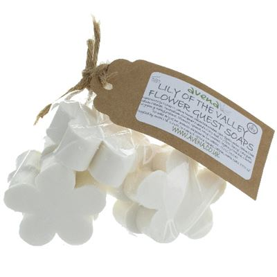 Lily of the Valley Flower Soaps Gift Bag of 5