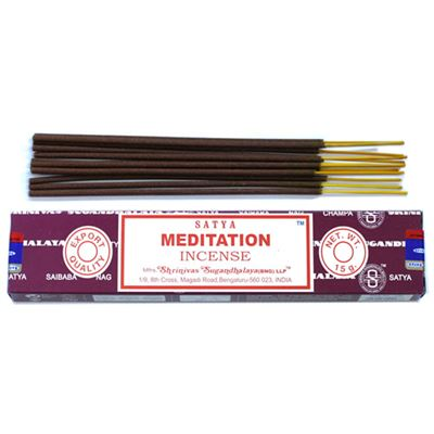 Meditation Satya Incense Sticks 15g Box