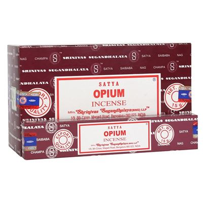 Opium Satya Incense Sticks 15g Box Of Twelve Special Offer