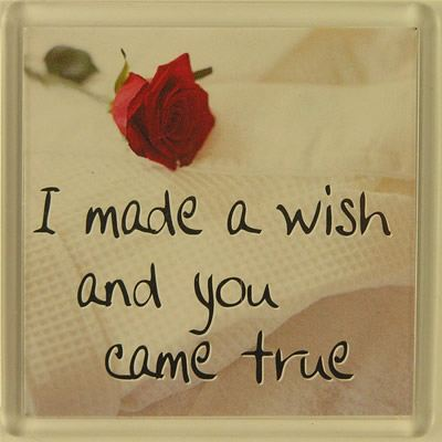 I made a wish and you came true Fridge Magnet 180