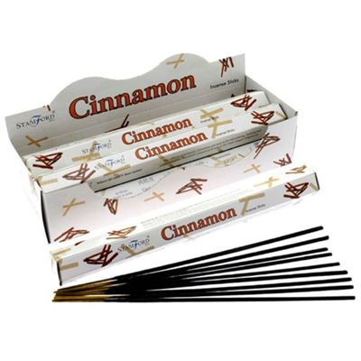 Cinnamon Incense Sticks Hexagonal Pack Stamford Box of Six Special Offer