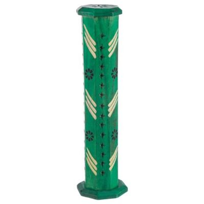 Green Mango Wood Incense Tower