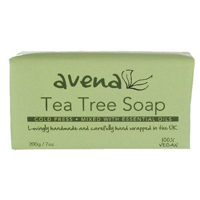 Avena Tea Tree Soap Bar 200g