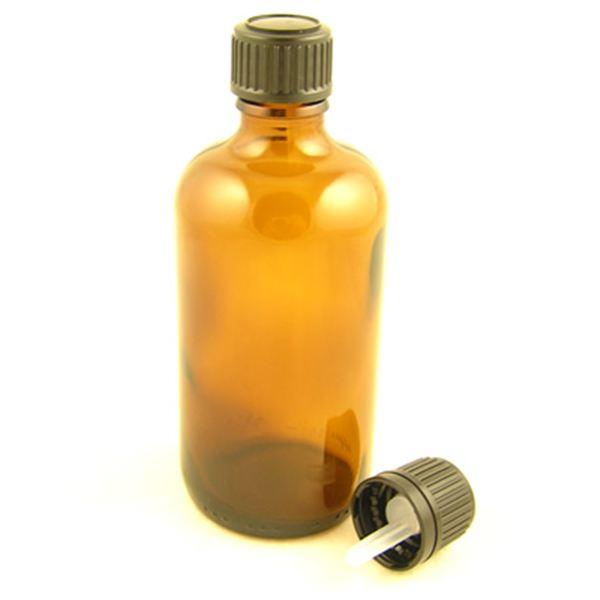 6bb4c89ddaf5 Glass Bottles Amber Kingston with Standard Black Dropper Cap 30ml ...