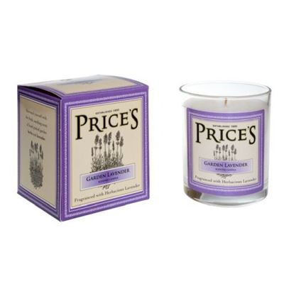 Garden Lavender Luxury Heritage Candle Jar by Price