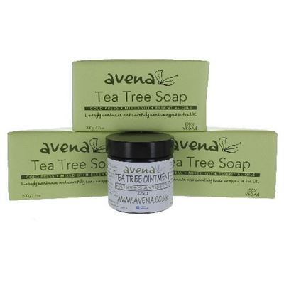 Tea Tree 3 Soap and Ointment Gift Set