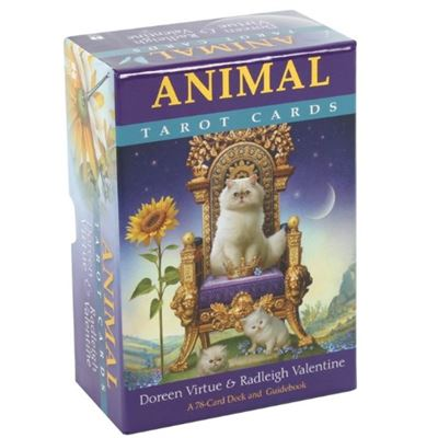 Animal Tarot Cards with Guide Book