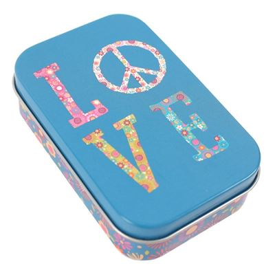 Love Metal Tin