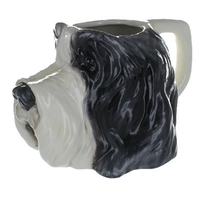 Bearded Collie Mug In Gift Box 20cm