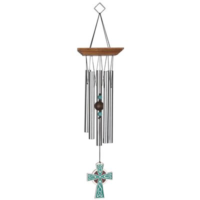 Celtic Cross Large Wind Chime From Woodstoack