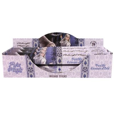 Midnight Messenger Incense Sticks By Anne Stokes Box of Six